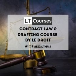 Contract Law & Drafting Course by Le Droit